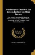 Genealogical Sketch of the Descendants of Matthias Button