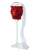 """CHC-Beverly Hills ROMANTIC, High End Champagne Necklace Holders """"Set of 5.1cm Red and White Ribbon"""