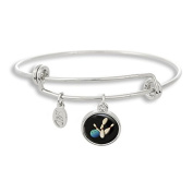 The Adjustable Band Bangle Bracelet featuring the Bowling ball
