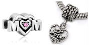 Athena Jewellery Mom And Love Charms European Style Beads