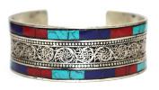 Nepalese Bracelet lapis coral Bracelet Nepal Cuff Bracelet Tibetan Bracelet Nepal Bracelet Tibet Bracelet