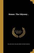 Homer. the Odyssey ..