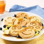 Nordic Ware Smiley Face Pancake Pan, Black