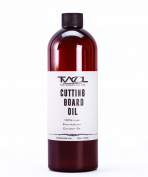 TWOL Cutting Board Oil 470ml - Butcher Block Oil & Bamboo Protection - 100% Fractionated Coconut oil - Protects and Prolong your Wooden Cookware
