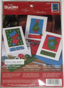Bucilla Christmas Messages #84999 Felt Card Kit