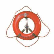 JIM BUOY 1123 Roughneck Stainless Steel Rack fits Life Ring, 60cm