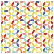 OCS Fiesta Kitchen Flower Coasters, Multicolor