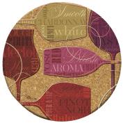 Thirstystone Colourful Wine-III Cork Coaster Set