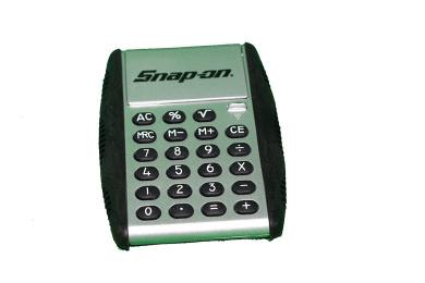 Snap on tools flip calculator sliver black