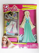 Barbie My First Magnetic Wooden Dress-Up Doll Set