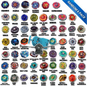 Beyblade Ultimate Battle Pack Comes with 6 Random Beyblades and Fully Equipped with Blue String Launcher & LL2 Launcher