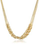 """Signature 4900cm 1928 Signature Gold"""" Multi-Twist Chain Necklace, 42cm"""