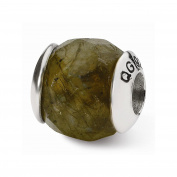 Perfect Jewellery Gift Sterling Silver Reflections Labradorite Stone Bead