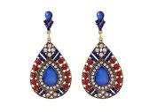 Earrings for Teen Girls Cheap Drop Blue Vintage Womens Earrings .