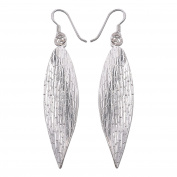 Design Thai Earrings 925 Sterling Silver from Karen hill tribe