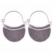 Pretty Dangle Earrings Pure Silver Karen Hill Tribe Handmade