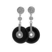 DJ Mix Dangling Earrings FE05