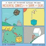 The Shape of Ideas 2018 Wall Calendar