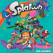 Splatoon (TM) 2018 Wall Calendar