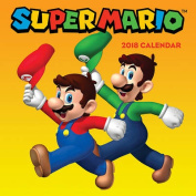 Super Mario (TM) 2018 Wall Calendar