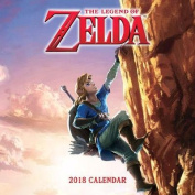 The Legend of Zelda (TM) 2018 Wall Calendar