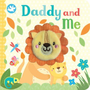 Little Me Daddy and Me Finger Puppet Book [Board book]