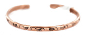 $100 Retail Tag Authentic Bear Paw Handmade Navajo Made by Charlene Little Native American Pure Copper Bracelet