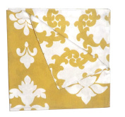 Split P Janette Damask/Loop Napkin (Set of 4), Multicolor