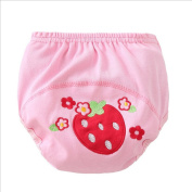 Meijunter Cute Baby Infant Cartoon Cloth Nappies Reusable Washable Leakproof Nappy Nappy Strawberry 100