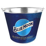 Boelter Brands Moon Metal Bucket, 4.7ls, Blue