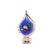 Pocket Bottles 14004 Handmade Glass Wine Bottle Stopper, Multicolor