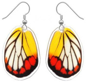 Real Butterfly Wing Earrings - Drop, Dangle, Natural, Unique, Handmade Jewellery