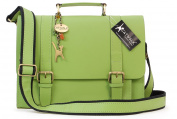 Catwalk Collection Leather Satchel - Canterbury