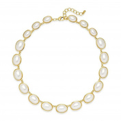 Charter Club Gold-Tone Imitation Pearl All-Around Necklace