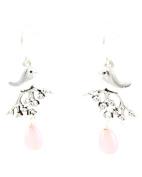 Sea Life - Bird Dangle / Fish Hook Earring Set / AZERSEA382-ASP