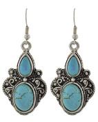 .  Fashion Dangle Fish Hook Earring / AZERFH783-ATU