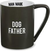 Pavilion Gift Company Man Made Dog Father Heather Coffee Mug, 530ml, Grey