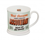 """Diner Mugs 195000039 """"Accountant"""" Mug, Pistachio Green"""