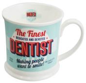 "Diner Mugs 195000177 ""Dentist"" Mug, Turquoise"