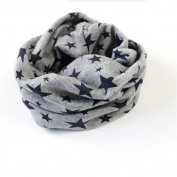 Outstanding® Cute Autumn Winter Warmer Star Collar Scarf for Girls Boys