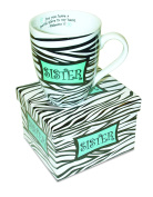Divinity Boutique Inspirational Ceramic Mug - Sisters Zebra, Philippians 1:7, For You Have a Special Place In My Heart., , Multicolor