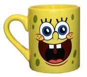 Silver Buffalo SG0132 SpongeBob Face Ceramic Mug, 410ml, Yellow