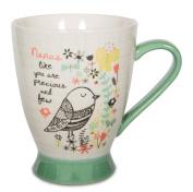 Pavilion Gift Company 74035 Nana Ceramic Mug, 470ml, 13cm , Mulicolored