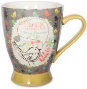 Pavilion Gift Company 74039 Teacher Ceramic Mug, 470ml, Multicoloured