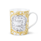 DEMDACO Happy Times Mug and Greeting Card, Multicolor