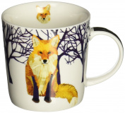Paperproducts Design Winter Solstice Fox Porcelain Gift Boxed Mug, 400ml, Multi-Colour