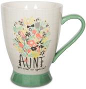 Pavilion Gift Company 74040 Aunt Ceramic Mug, 470ml, Multicoloured