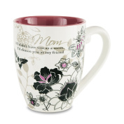 "Mark My Words 66344 ""Mom"" Mug, 590ml"