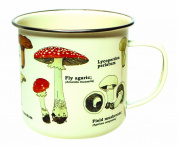 Gift Republic GR270058 Mushroom Enamel Mug, Multi