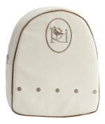 Collection Rosabel Damaris Backpack for Baby, White/Beige
